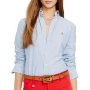 Ralph Lauren Sport ✭ Denim Oxford Shirt